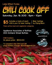 chili cook off 2013 poster