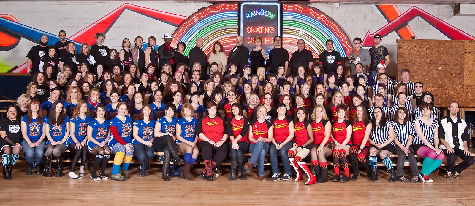 2010 Queen City Roller Girls | Photo by Fritzenfrat