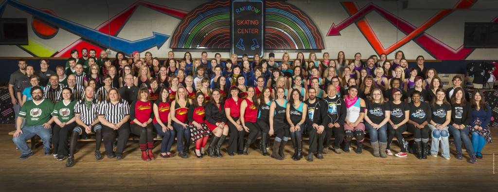 2014 Queen City Roller Girls | Photo by Jim Bush