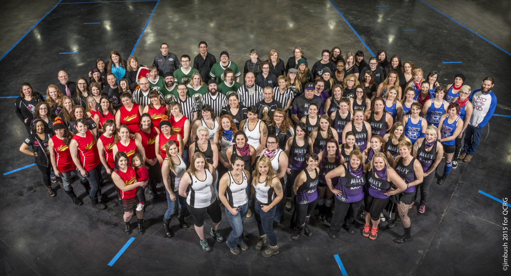 2015 Queen City Roller Girls | Photo by Jim Bush