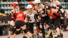 Furies secure 5th place finish at WFTDA D2 Playoffs